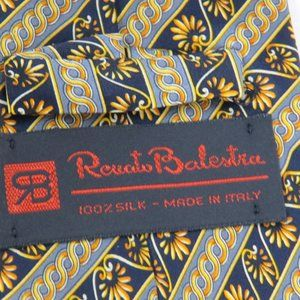 Renato Balestra Accessories - RENATO BALESTRA Men's Silk Tie Made in Italy